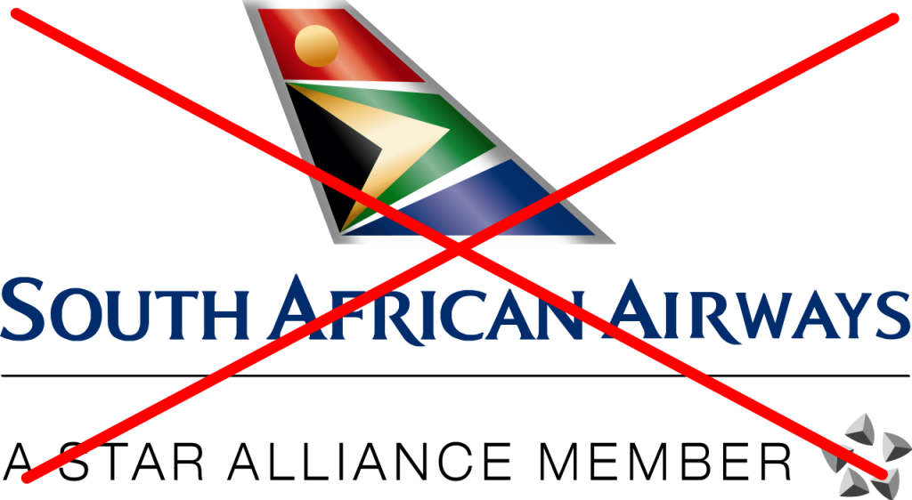 Why I won't fly South African Airlines
